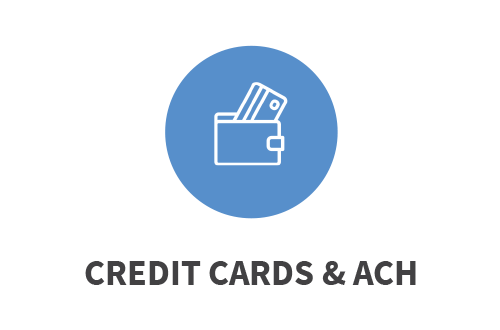Credit Cards & ACH