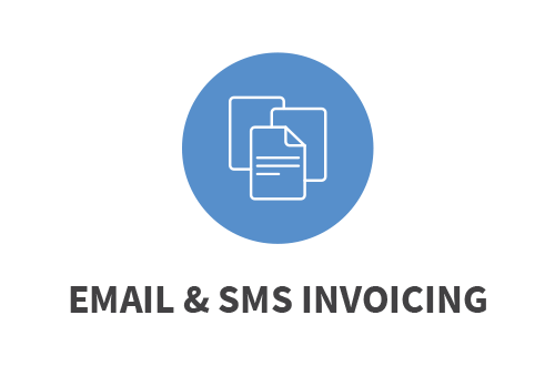 Email & SMS Invoicing